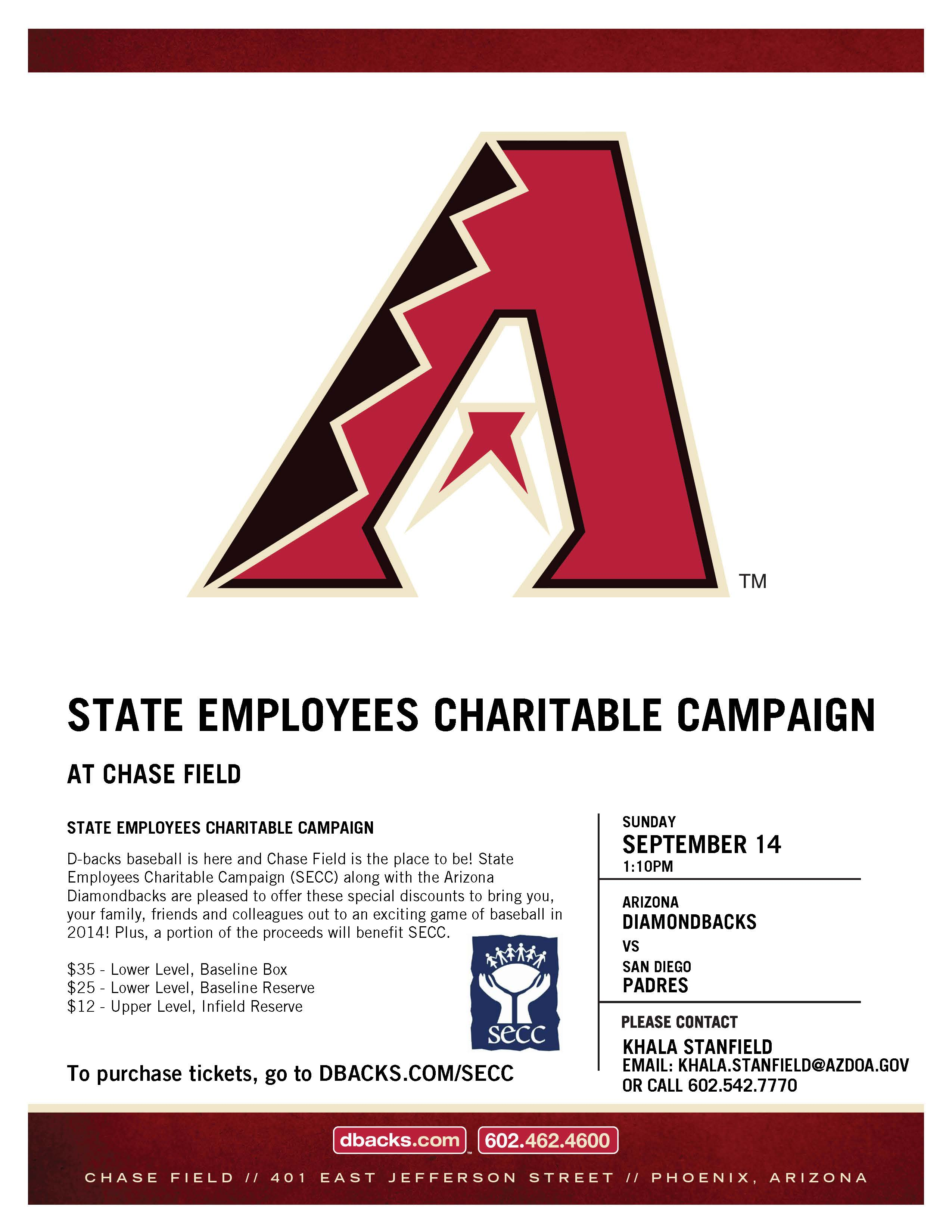 Sunday Afternoon with the SECC & the Dbacks | State of Arizona