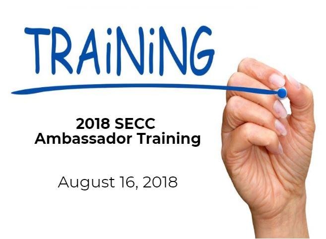 2018 SECC Ambassador Training